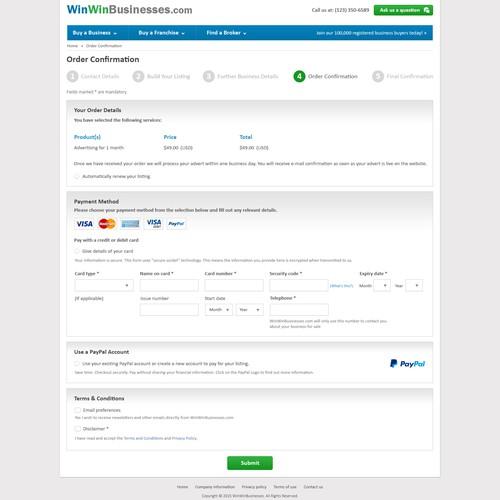 Businesses Listing Website