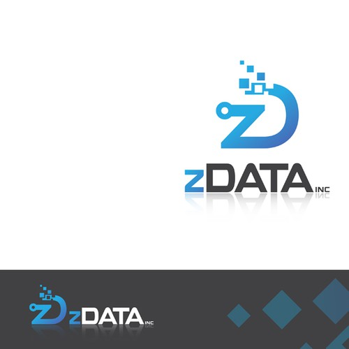New Tech Startup - Z Data Incorporated Logo