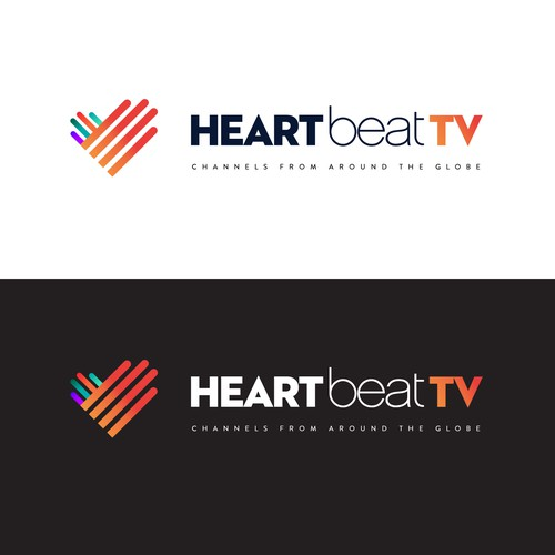 TV channel requires bold, beautifiul logo