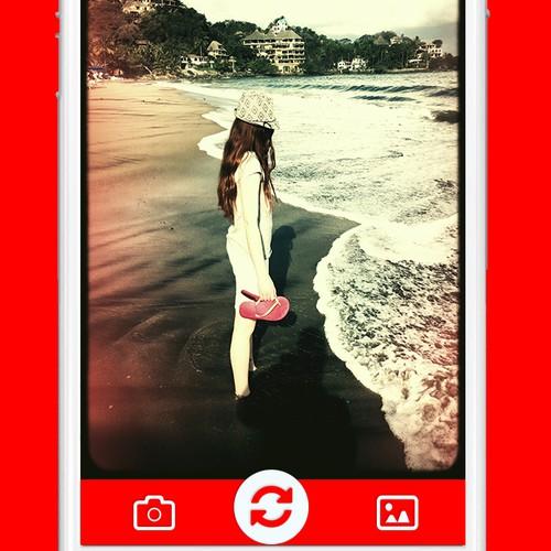 Photography App Design
