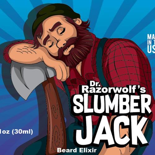 label for beard elixir