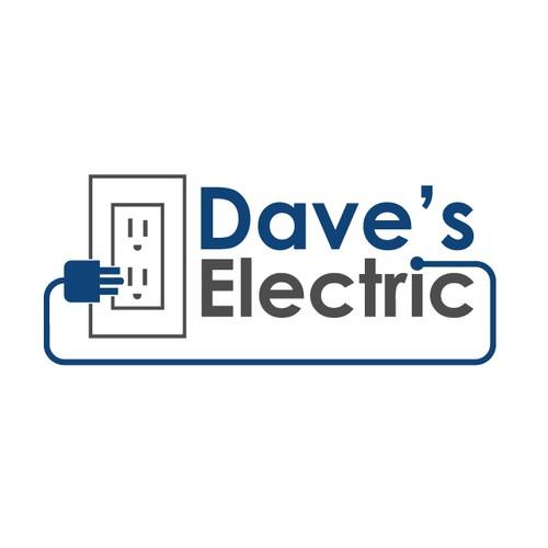 Simply design for Logo Electrician Company