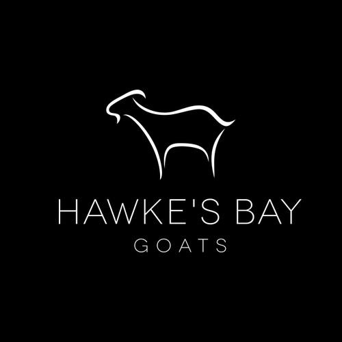 dairy goat farm logo