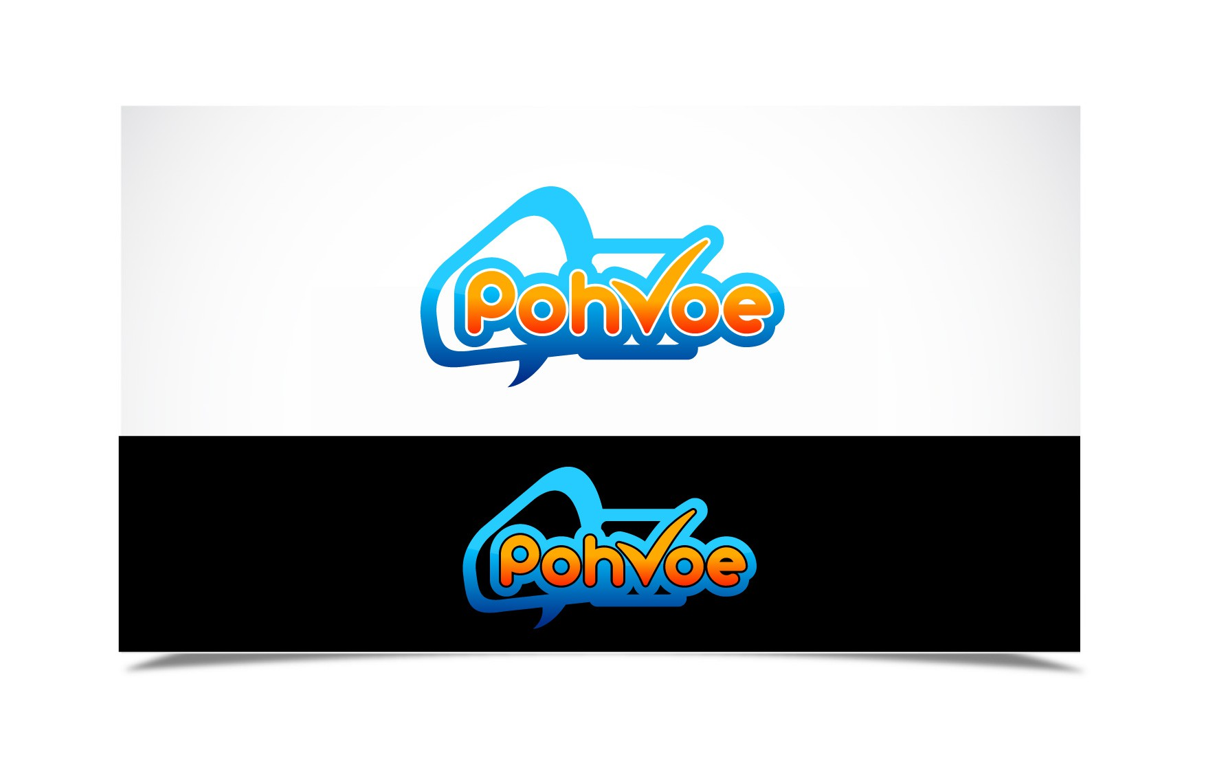Desgin the logo for PohVoe.com!! A big social media site!