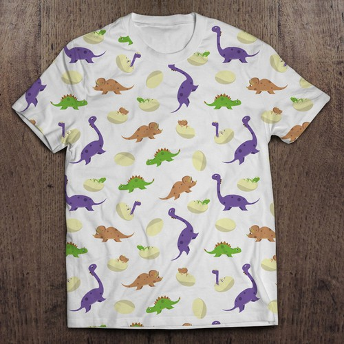 Dinosaur pattern for Kids