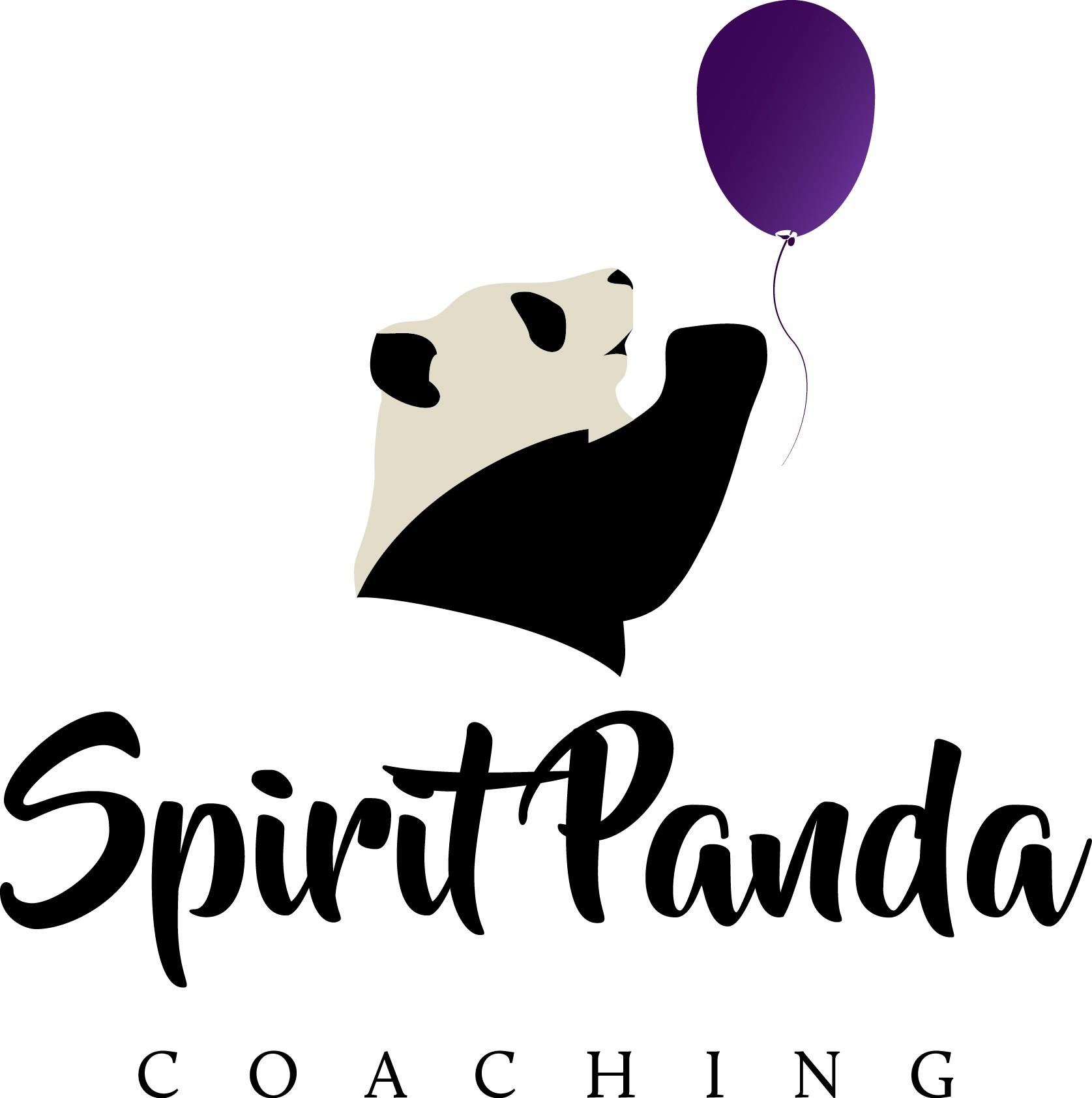 Life Coaching Business needs a powerful spirit panda design logo