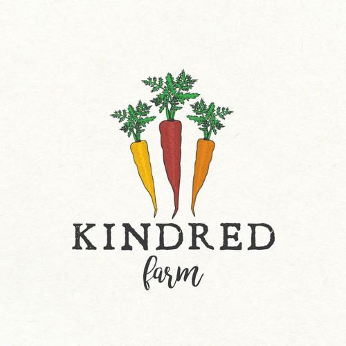 Logo design for a farm
