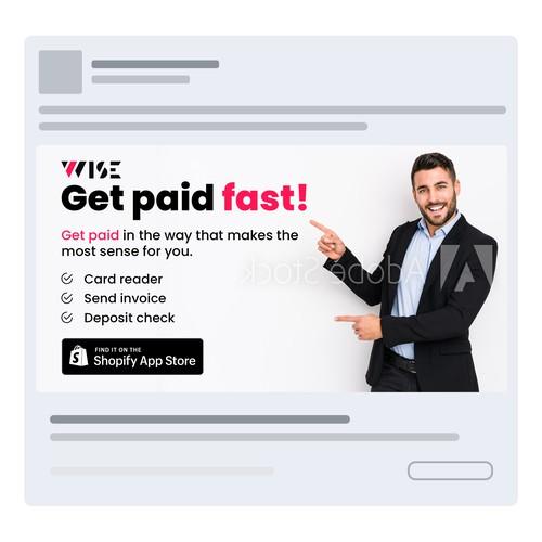Facebook/Instagram Ad Design For Fintech App