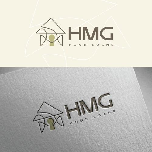Modern minimalist simplicity house logo