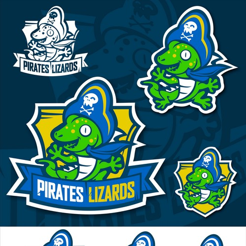 Pirates Lizards