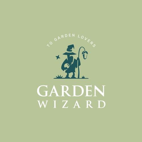 Logo concept for Garden Wizard