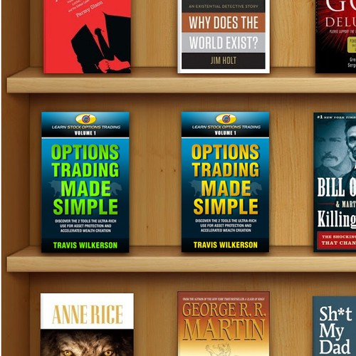 E-Book Cover (Kindle) for Learn Stock Options Trading
