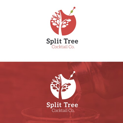 Logo for a cocktail company