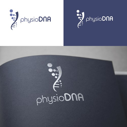 Logo concept for physioDNA