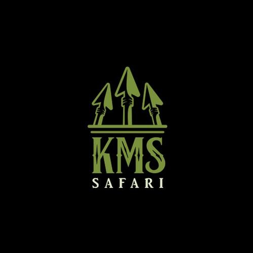 KMS Safari Logo Design