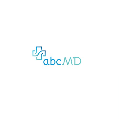 Logo Design for abcMD Online medical clinic