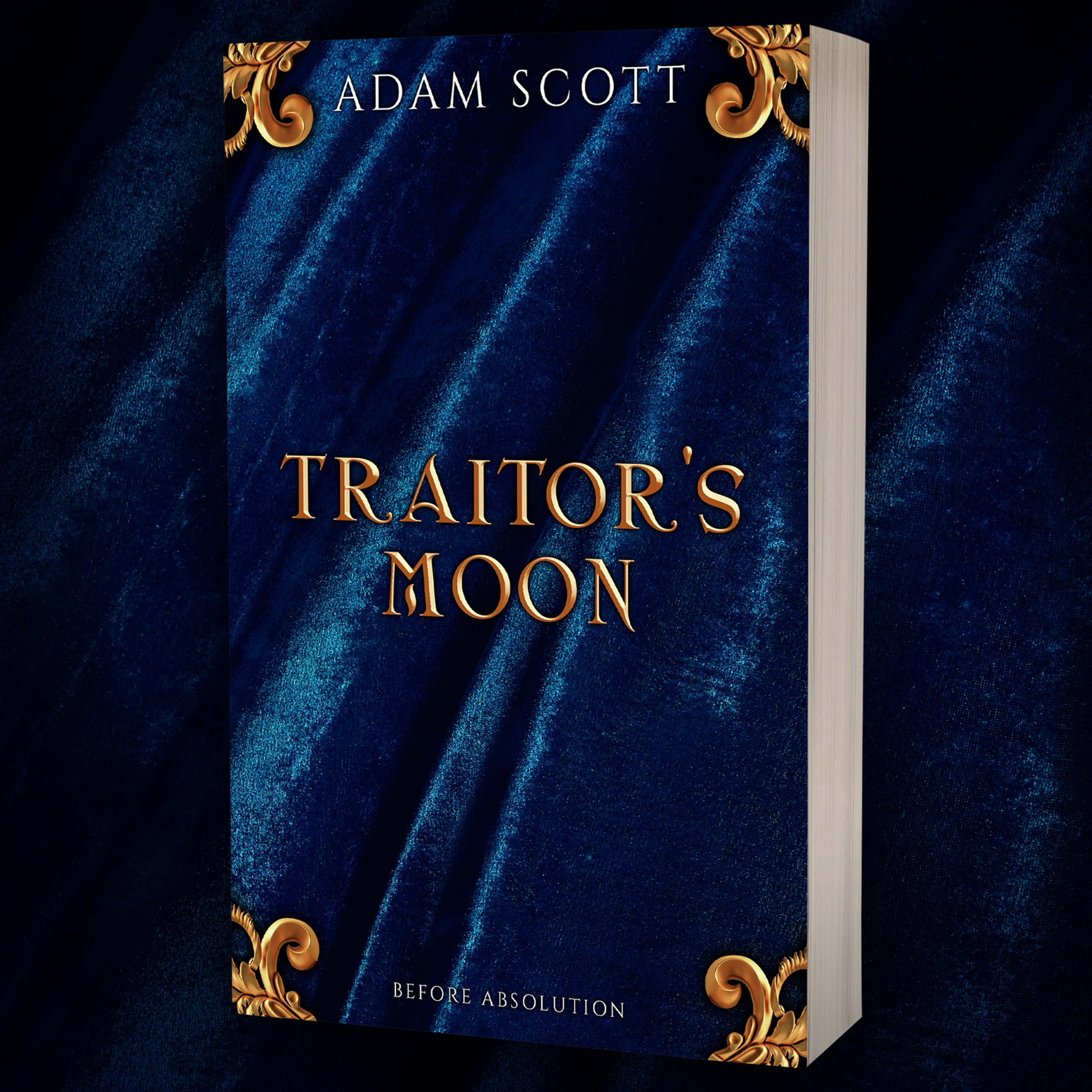 Ebook cover design - TRAITOR'S MOON