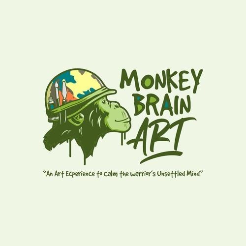 Monkey Brain Art