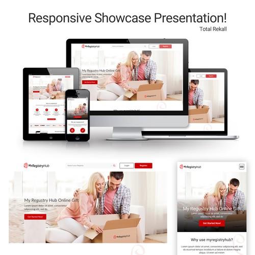 Bold Webpage Design