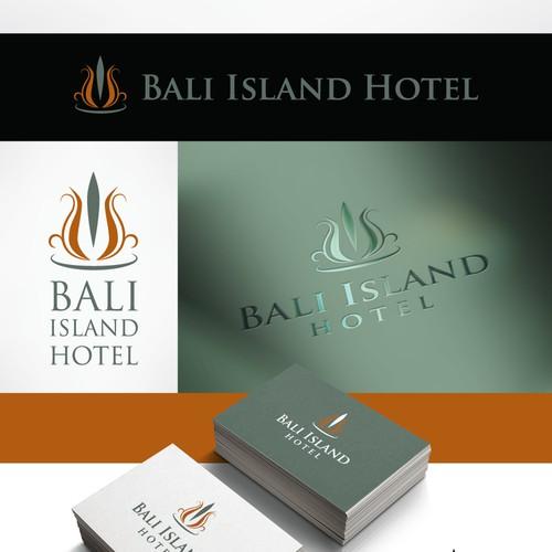 logo design for 4 star bali island hotel (china hotel)