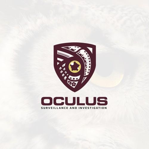Oculus surveillance logo