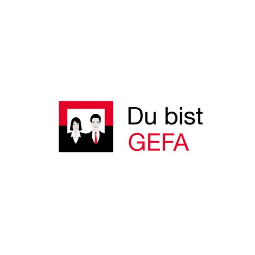 """""""You are GEFA"""" - Foster Employee Loyalty   Logo for """"Du bist GEFA"""" – an internal initiative to strenghten teamspirit and identity"""