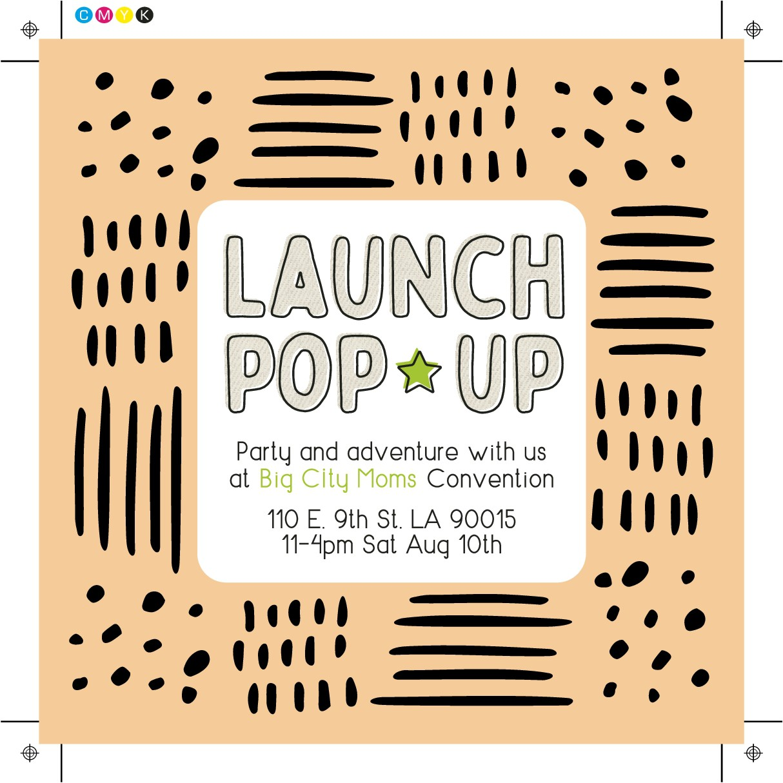Launch Promo Flyer