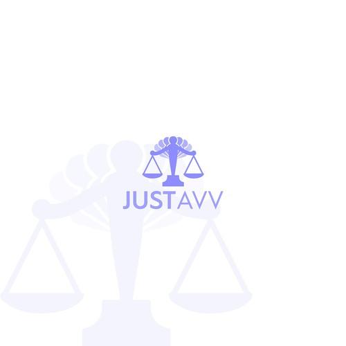 JustAvv Logo Design.