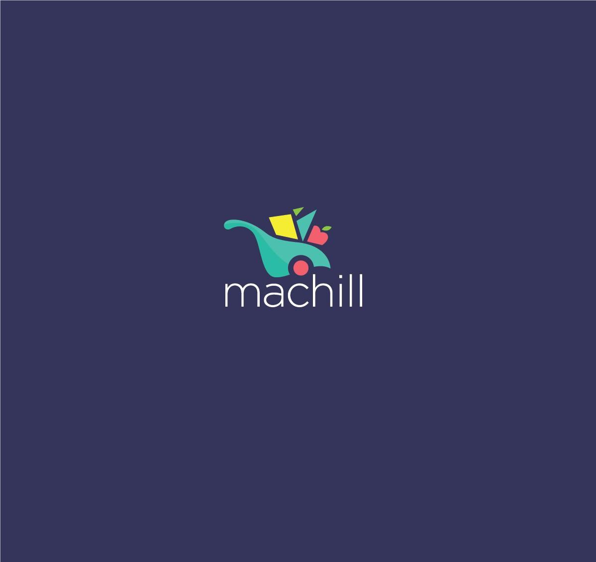 Online supermarket Logo design
