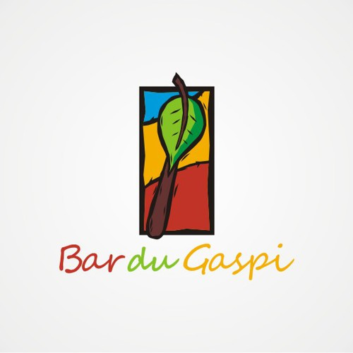 logo concept for Bar Du Gaspi