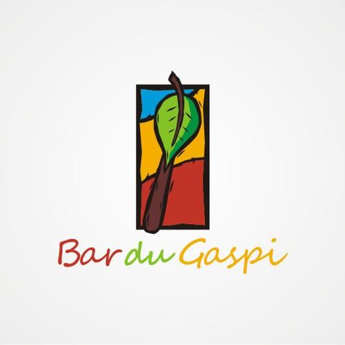 logo concept for Bar Du Gaspi