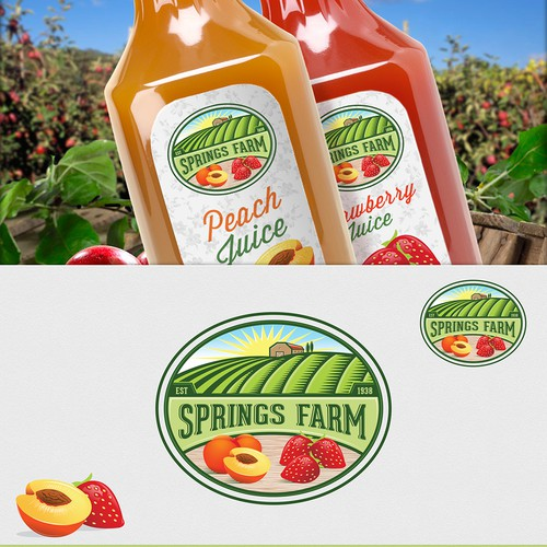 Logo for Springs Farm
