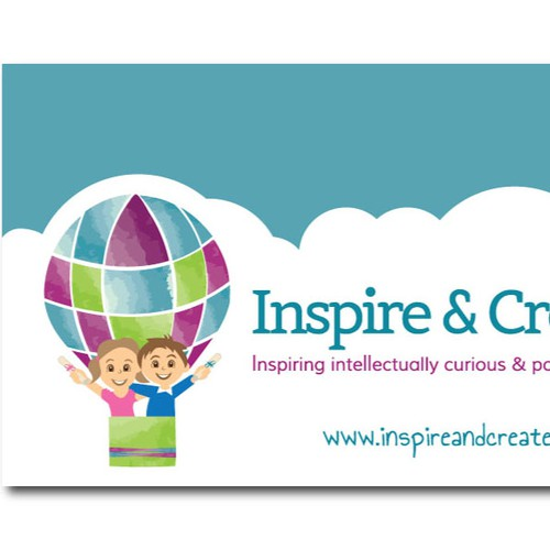 Children's Company Logo & Business Card