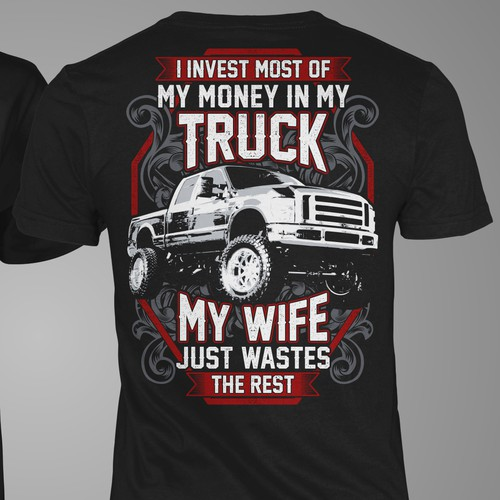 T-Shirt Truck My Wife