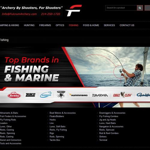 Fishing and Marine design