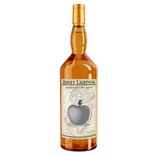 liquor label mockup