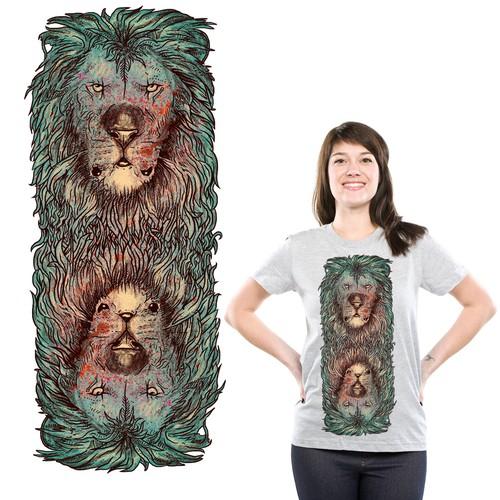 lion illussion