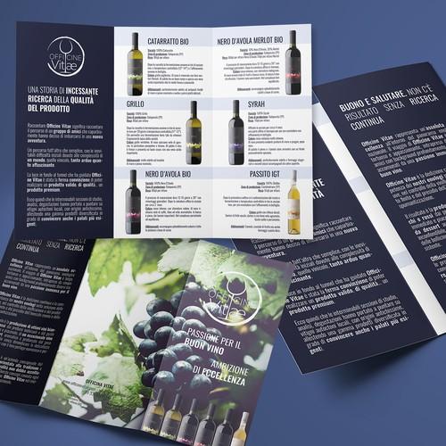 Brochure per Officine Vitae