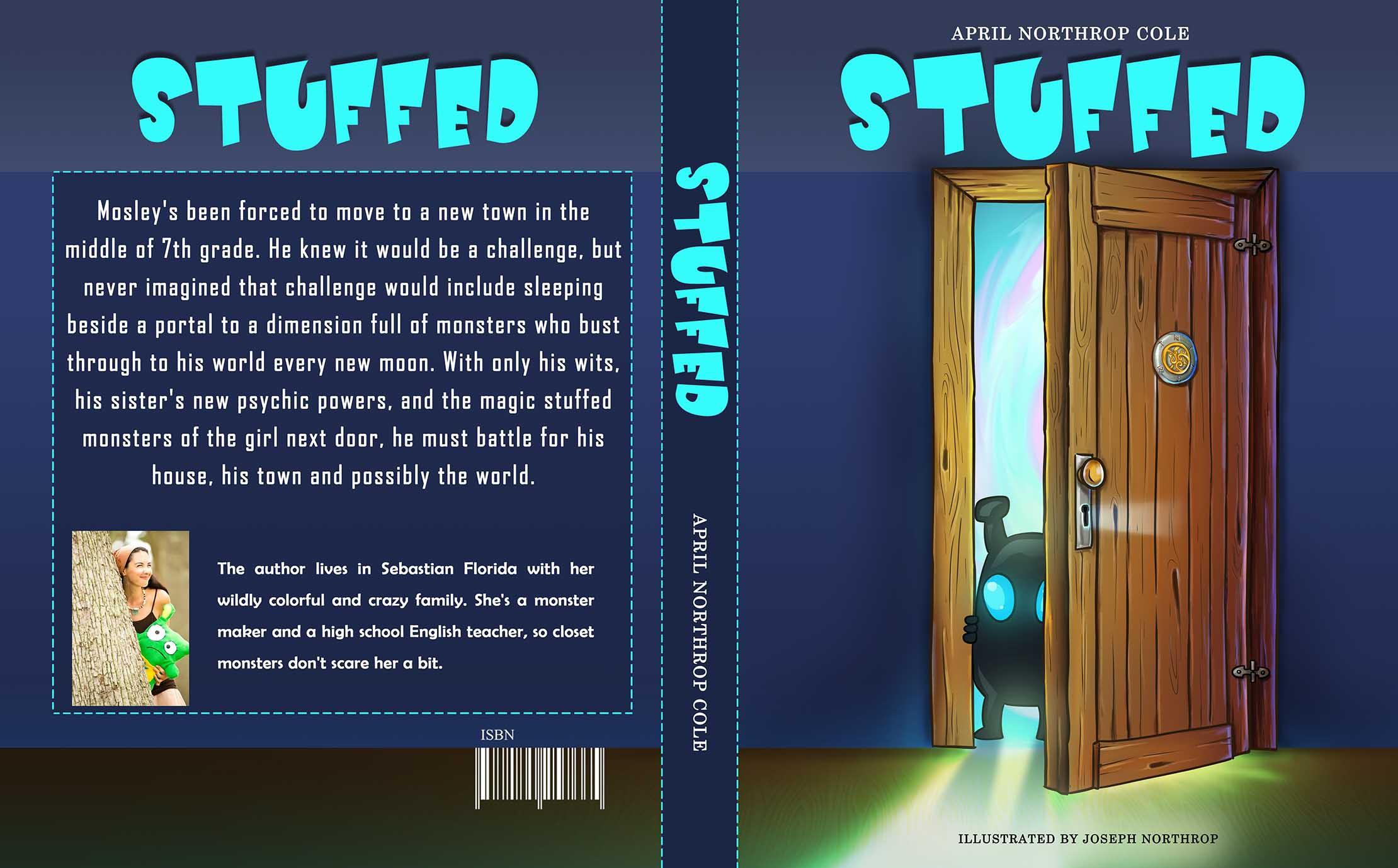 Stuffed (kids -YA book cover)