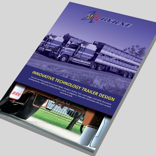 New brochure design wanted for Byrne Trailers Pty Ltd