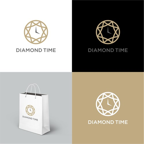 Logo for a retail chain specialising in sales of watches.