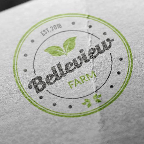 bold logo for farm
