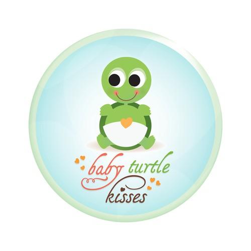 Baby turtle kisses