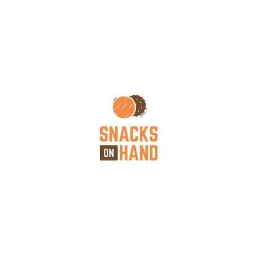 Logo for an on-line snacks store.