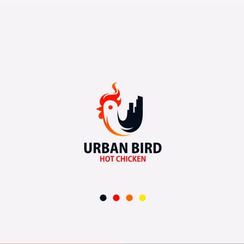 chicken logo for Urban bird hot chicken company