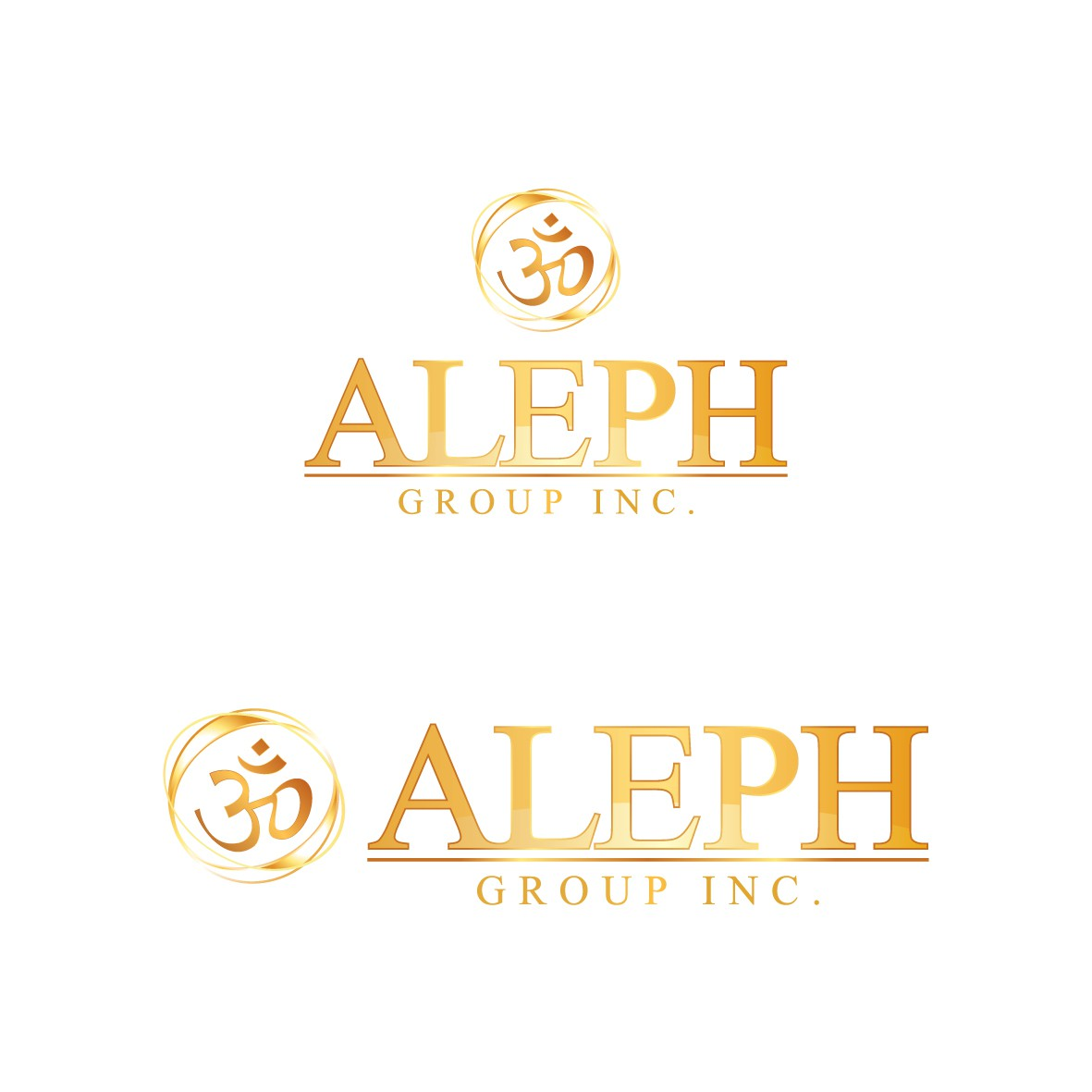 Create the next logo for ALEPH GROUP INC.