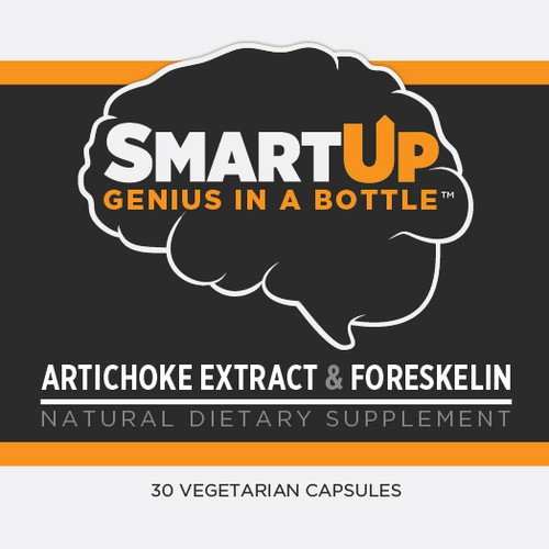 Supplement Label for Smart Up