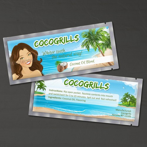 Product Label for Cocogrills