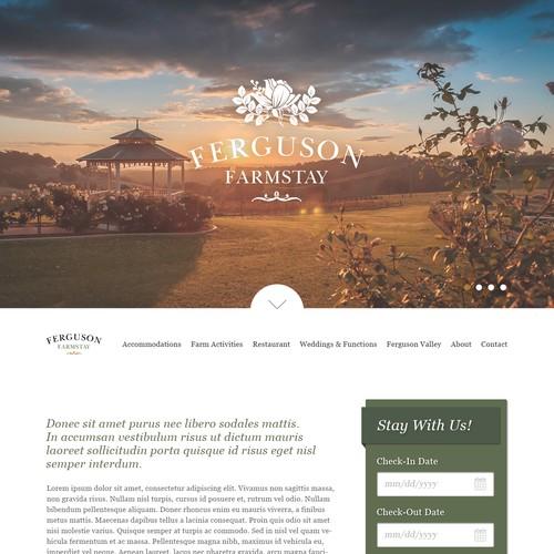 Website Design for Ferguson Farmstay