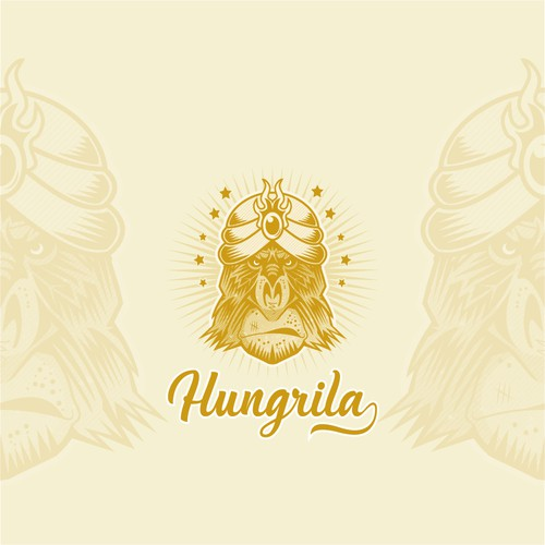 Hungrila Logo Design